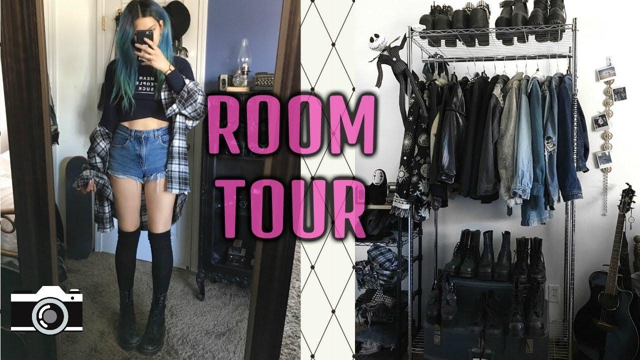 ROOM  TOUR 2020 VINTAGE GRUNGE  DECOR  YouTube
