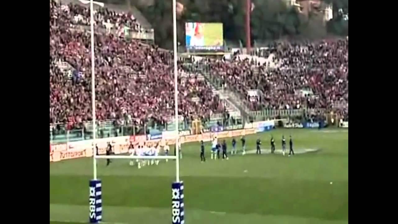 Rugby Italia - Francia 22-21 vittoria storica Sei Nazioni 12 marzo 2011 -  YouTube