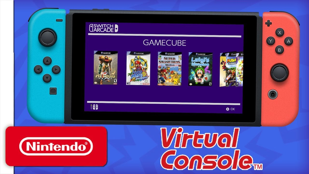 Switch Virtual Console Concept Youtube