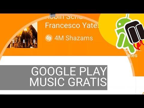 Google Play Music gratis 4 meses: olvídate de descargar música