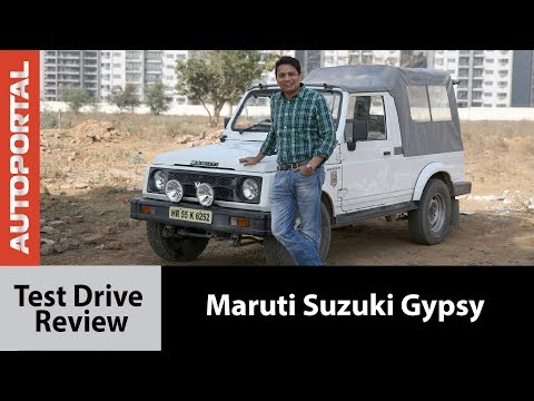 Maruti Suzuki Gypsy Test Drive Review - Autoportal