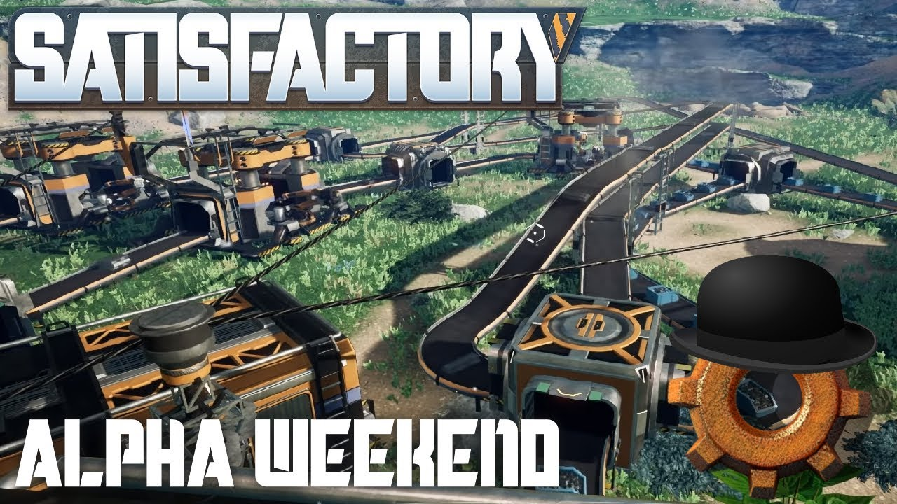 SATISFACTORY GAMEPLAY   Alpha First Impressions   3D Factorio