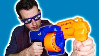 THE NERF SURGE FIRE!!!