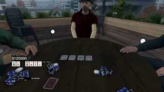 $300,000 POKER WIN - Watch Dogs Texas Hold