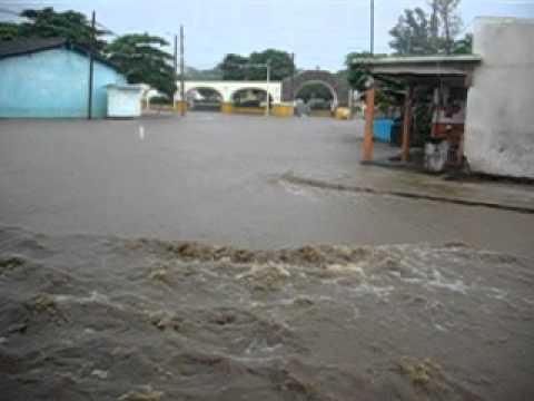 Inundacion en Tres Zapotes