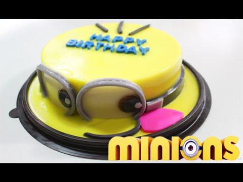 DIY How to Make Minions Jelly Cake - วิธีทำวุ้นเค้กมินเนี่ยน | วุ้นแฟนซี