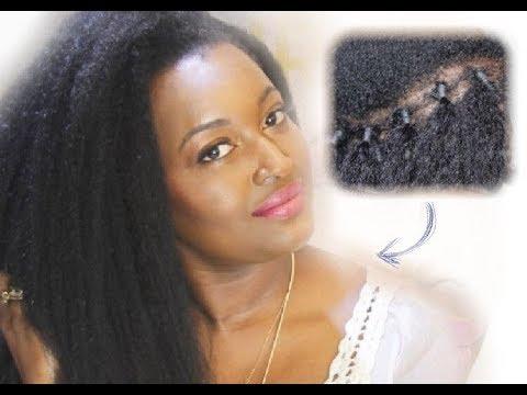 extensions au fil sur cheveux cr pus youtube. Black Bedroom Furniture Sets. Home Design Ideas