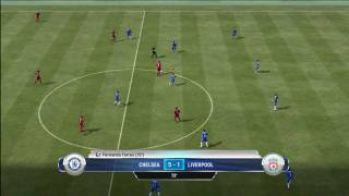 Fifa 12 Gameplay Chelsea vs Liverpool xbox 360