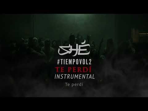 SHÉ - Te perdí (Instrumental) #TIEMPOVOL2