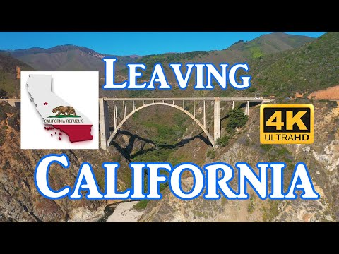 California - The Exodus From The Golden State