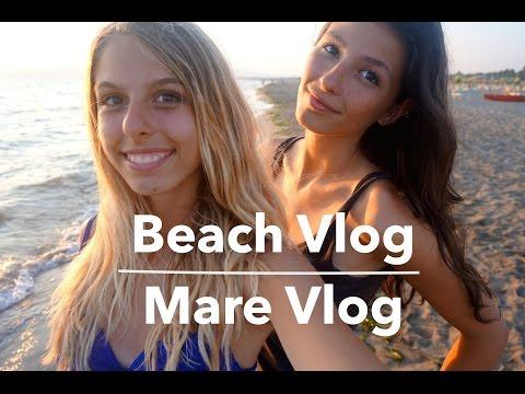 Beach Vlog - Giornata al mare video in Italiano!   theycallmechair