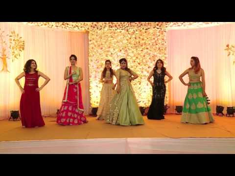 NACHDE NE SAARE  | Wedding Choreography |...