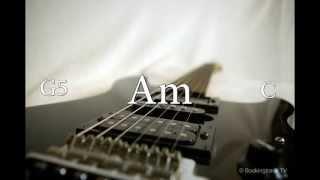 Alternative Rock Guitar Backing Track in Am