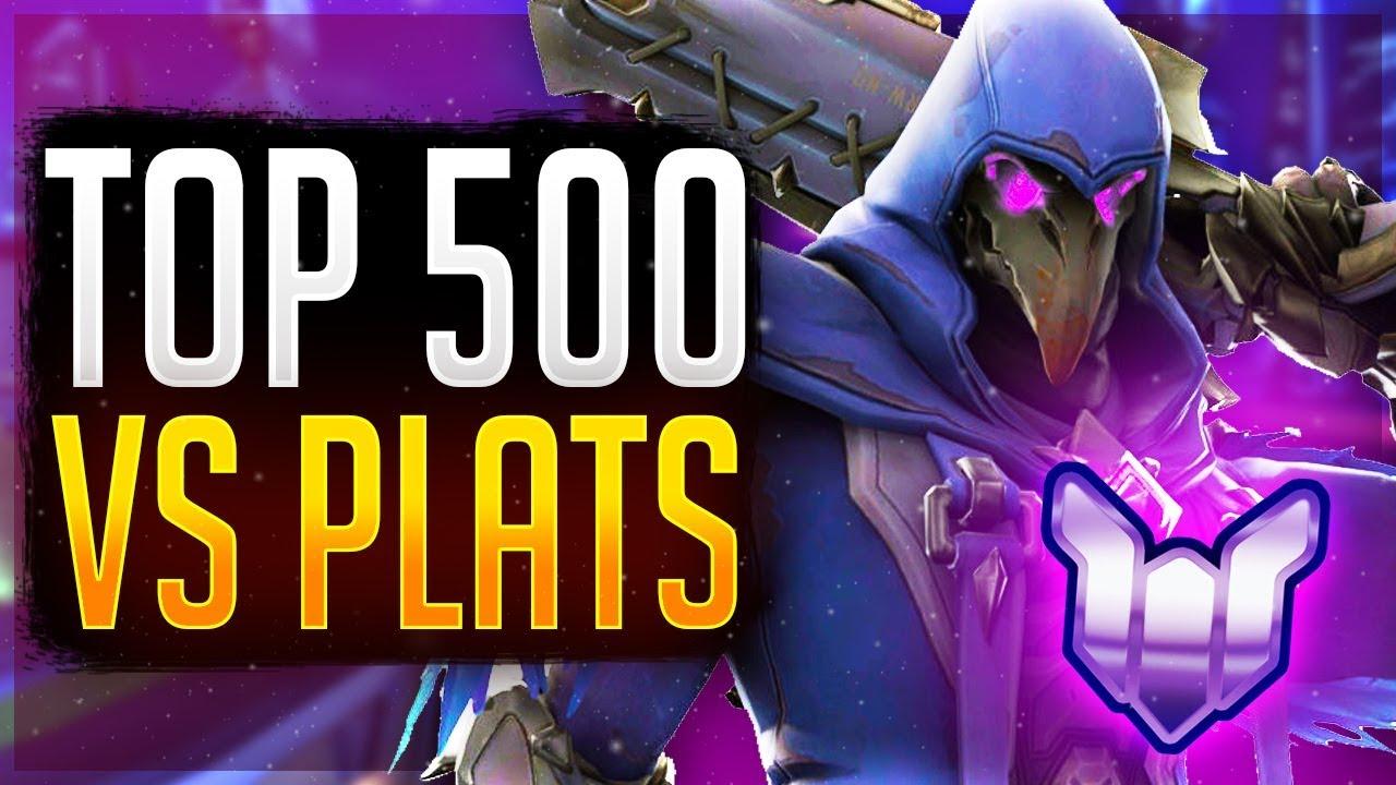 Is Reaper OP? Top 500 Reaper vs Plats! Unranked to GM