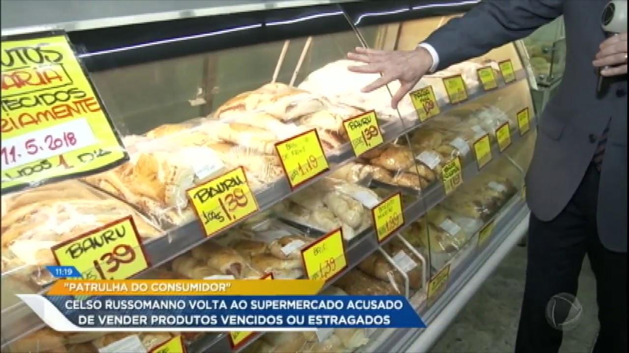Após denúncias, Celso Russomanno acompanha Procon na fiscalização de supermercado