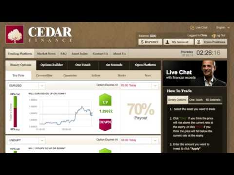 Cedar Finance & Binary Options - Android Apps on Google Play