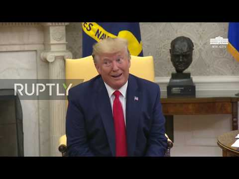 USA: Trump admits rift with Bolton and staffers