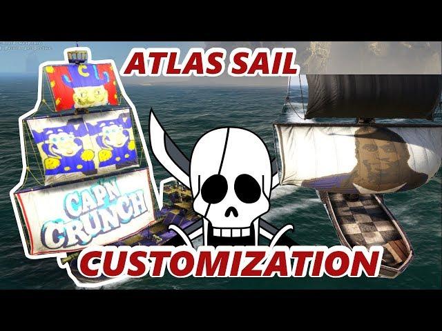 ATLAS CUSTOM SAIL TUTORIAL/HOW TO MAKE COLOR DYE