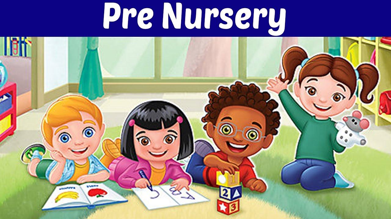 Pre Nursery - Syllabus for Entrance Test for Class KG