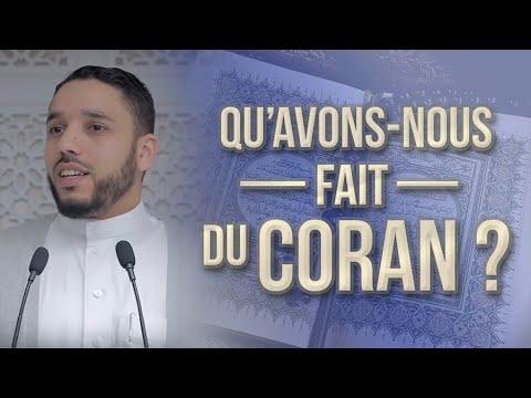 QU&39;AVONS-NOUS FAIT DU CORAN ?  RACHID ELJAY