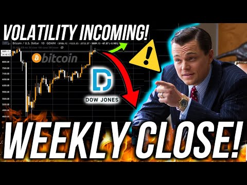BITCOIN WEEKLY CLOSE! USA & UK MARKET CRASH!? Business ...
