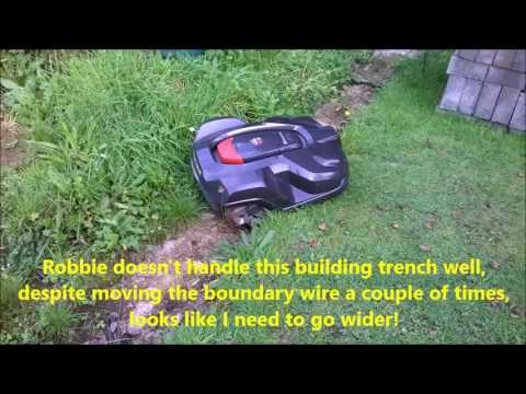 Husqvarna Automower plusses and minuses review