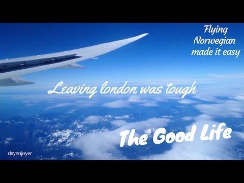 Flying Norwegian; Leaving London Gatwick to Seattle was tough.