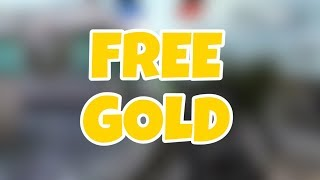 How to get free gold in bullet force