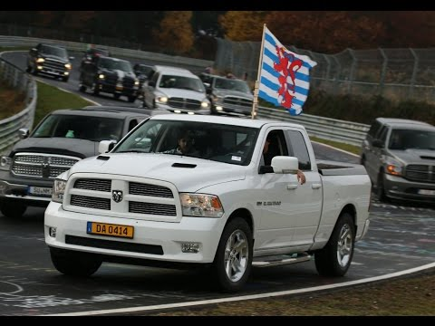 Dodge RAM GUINNESS WORLD RECORDS™ - Largest parade of pickup trucks / Nürburgring 05.11.2016