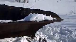Отвал и клин для расчистки снега.