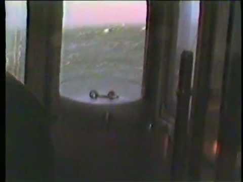 I orkan til Hirsholmene med postbåden 1983