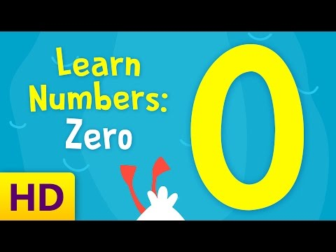 Learn Numbers | Number Zero | How To Teach Number 0 | Is Zero A Number?