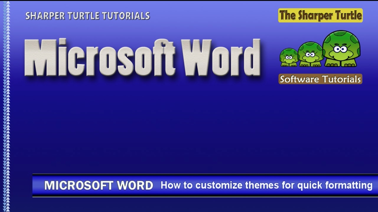 microsoft word how to customize themes for quick formatting microsoft word how to customize themes for quick formatting