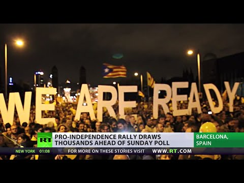 1 Day to Go: Catalonia gears up for 'illegal' independence vote
