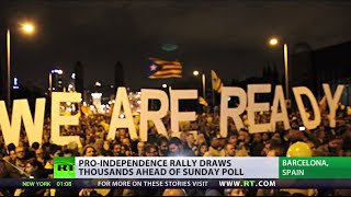 1 Day to Go: Catalonia gears up for