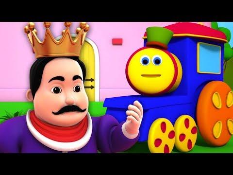 der-alte-könig-cole- -kinderreime-für-kinder- -3d-nursery-rhymes- -bob-the-train- -old-king-cole