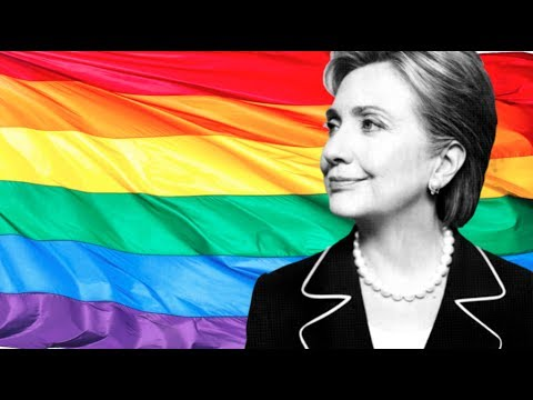 hillary clinton and her gay party