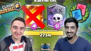 SADECE SAĞDAKİ KARTLARI SEÇ! w/ROZETMEN-CLASH ROYALE