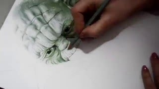 Video Speed Drawing Yoda (Star Wars) download MP3, 3GP, MP4, WEBM, AVI, FLV November 2017