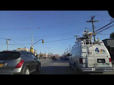Driving from Ozone Park to Rockaway Park Queens,New York