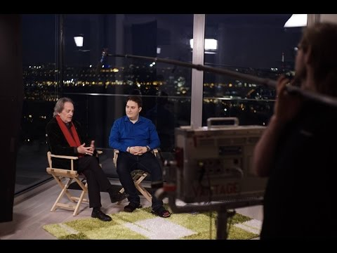 Roy H. Wagner, ASC being interviewed by Petr Zacharias, producer and director