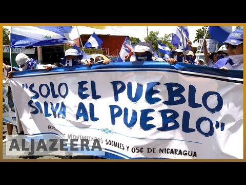 🇳🇮 Nicaraguans marchers call for release of political prisoners | Al Jazeera English