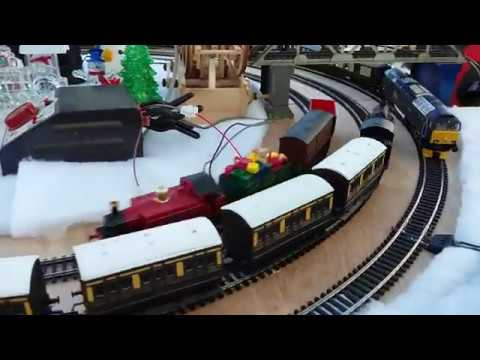 Colin's Christmas model railway edition 2 December 2017