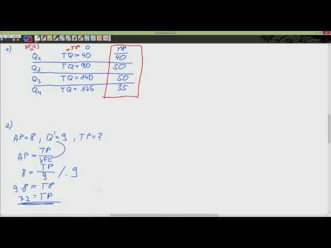 Cvičení - Mikro1 - Výpočet mezního produktu / výpočet…