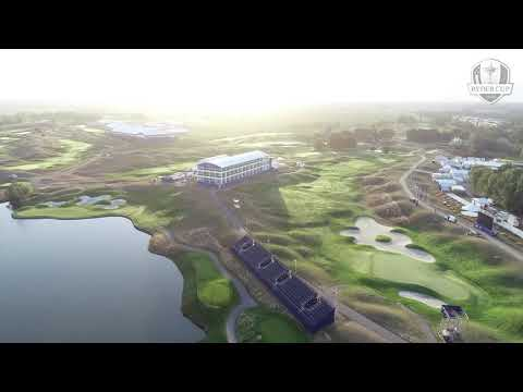 Ryder Cup drone tour: Le Golf National, Paris