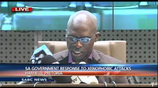 Malusi Gigaba briefs media on SA Govt