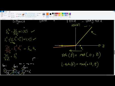 Changing activation functions ( sigmoid vs tanh vs relu )