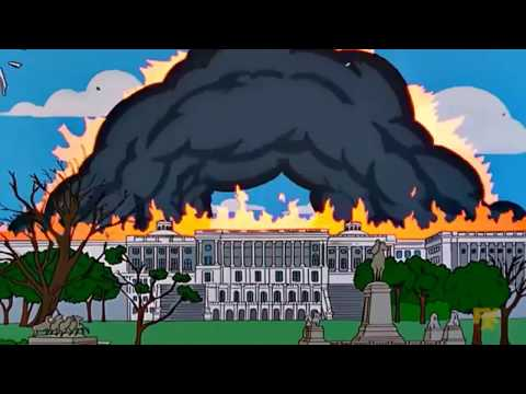 Compilation Explosions And Fires In The Simpsons