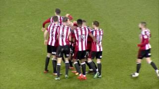 Blades 4-0 Swindon - match action