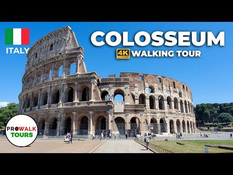 The Colosseum Virtual Treadmill Walk in 4k